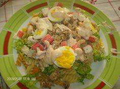 Cinco sentidos na cozinha: Salada estival de atum