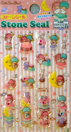 Japanese Stickers- Little Twin Stars