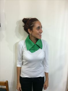 Leather green collars! 50$!