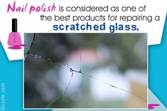 Superficial scratches on glass can be removed with the help of simple products easily available at home. This article will provide some tips that will be useful to repair scratched glass.