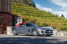 Mercedes-Benz SLS AMG Roadster (beautiful, just straight beautiful!!)