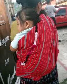 Babywearing - Guatemala