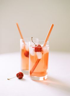 Little Shirley Temples for Valentine's Day