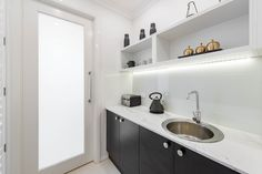 Hidden from the world, the Butler's Pantry holds all the chef's secrets. Find more Metala inspiratio House Design, House, Kitchen Solutions, Home, New Homes, Butler Pantry, Butlers, Pantry, Storey Homes