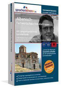 Albanisch Fachwortschatz CD-ROM + MP3 Audio CD