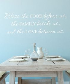 Wallquotesbelvedere Designs Black 'kitchen' Wall Decal Impressive Dining Room Wall Quotes Design Ideas