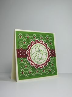nice people STAMP!: Be of Good Cheer - 3 x 3 Cards