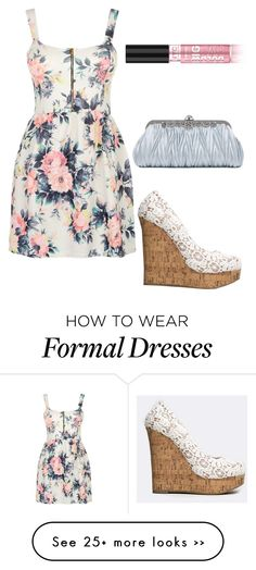 """""""Semi-formal for less than $100"""" by csweany12 on Polyvore featuring Delicious, Cameo Rose and lizzydressforless"""
