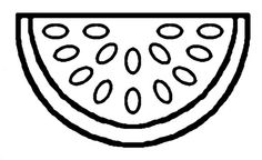 Free Watermelon Fruit Coloring Pages Printable. Watermelon is one of the fresh fruit that is sought after during the summer. Watermelon has a fresh, watery and sweet taste. Rich in vitamin C, waterm. Fruit Coloring Pages, Bear Coloring Pages, Coloring Pages To Print, Printable Coloring Pages, Coloring Pages For Kids, Coloring Books, Coloring Sheets, Watermelon Drawing, Watermelon Crafts