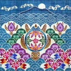 Bingata fabric from Okinawa - so beautiful!