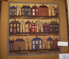House quilt...lovely!