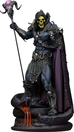 Masters of the Universe Skeletor Statue by Sideshow Collecti | Sideshow Collectibles