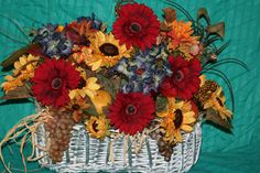 Fall table arrangement selling for $60.00