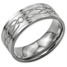 Mens Spinning Ring in Stainless Steel Wedding band men Walmart