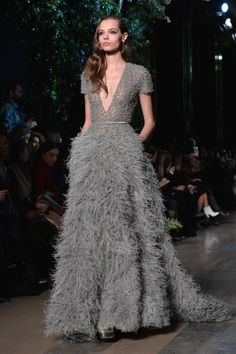 Flirty feathers: http://www.stylemepretty.com/2015/02/02/paris-spring-couture-week-inspiration-for-the-bride/