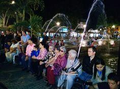 Chorros danzantes le devuelven la magia al Parque El Lago Uribe Uribe