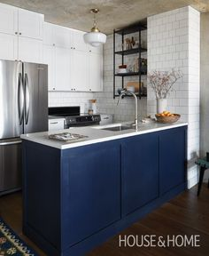 cool Eclectic Glam Condo Remodel - Before & Afters by //www.99 ... on