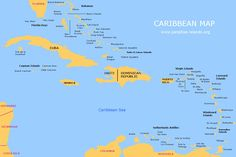 Caribbean Map | Free Map of the Caribbean Islands