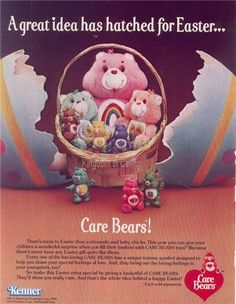 Remembering Care Bears EasterBaskets - Buzzfeed
