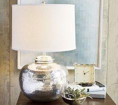 Cute bedside lamp.