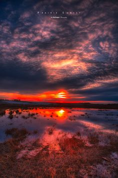 ~~Prairie Sunset ~ Canadian prairie, Saskatchewan by Ian McGregor~~