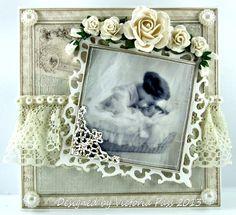 Sticky With Icky: The second christening card........
