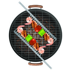 Fun BBQ accessories for the home grillmaster! Come see our huge line of fun grill supplies and tools. Bbq Skewers, Kabobs, Barbacoa, Best Gifts For Men, Cool Gifts, Bbq Accessories, Wood Fired Pizza, Take My Money, Smart Home