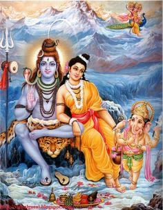 Shiv Parvati Ganesha