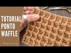 Today present you two wonderful crochet stitches and we want to know your opinion. Which stitch do you use more often to crochet different items. Crochet Home, Irish Crochet, Crochet Baby, Bobble Crochet, Crochet Hooded Scarf, Crochet Stitches Patterns, Stitch Patterns, Knitting Patterns, Waffle Stitch