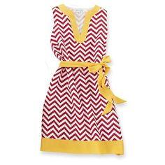 FSU chevron dress