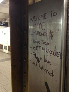 I would have loved to see this when I was in NYC
