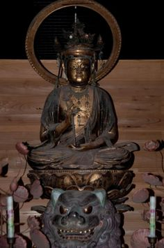 新宮熊野神社 文殊菩薩