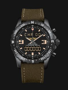Breitling Chronospace Military - Swiss military watch
