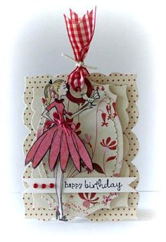 Penny Black-Mini Card tag