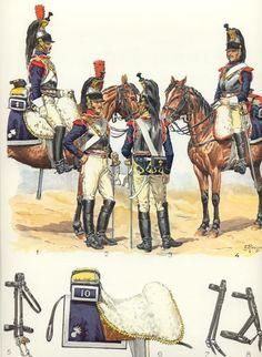 SOLDIERS- Rousselot: NAP- France: Cuirassiers 1804-1810 (pl 15) 1