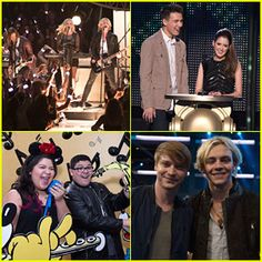 R5 Rock Out At Radio Disney Music Awards with 'Austin & Ally' Cast- Just Jared Jr