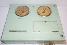 Rare Vintage Marine Transistor Clock Sieko QC-6MS #SEIKO