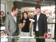 Funny end to this interview with Keith & Paul on Local WIVT WBGH Newschannel34