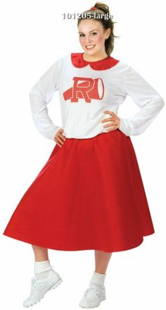 Plus Size Rydell Cheerleader 50s Costume,$24.61