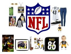 """STEELERS NATION STEELER PRIDE STEELER FOR LIFE"" by magconyasss on Polyvore featuring NIKE, Ally Fashion, Vans, CellPowerCases, Fornash and Fathead"