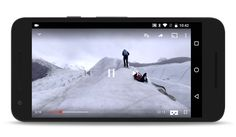 Google's YouTube app for Android now supports virtual reality (VR) video in combination with its Cardboard VR viewer.