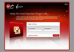 Virgin Media web design by http://creativepool.co.uk/LewisA