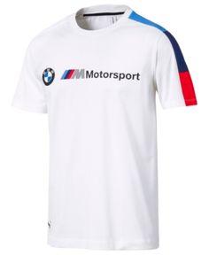 a094fea922da7 Puma Men s Bmw Logo T-Shirt - White XXL Moda Atrevida
