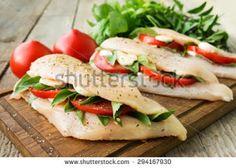 Peito de frango com mozarella e batata-doce no forno. | My Baby Blue Blog | Bloglovin'