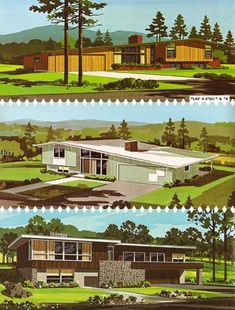 Everything You Need to Know About Mid-Century Modern Architecture! Home design ideas: Architecture design ideas for your interior design project! Mid Century House, Mid Century Style, Mid Century Modern Design, Modern House Design, Midcentury Modern House Plans, Bg Design, Home Design, Interior Design, Architecture Design