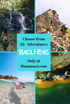 Imagine plunging into crystal clear Caribbean waters and seeing a kaleidoscope of colorful fish and corals just beneath the surface. Imagine reaching the summit of an ancient Mayan pyramid and seeing the lush rainforest spread for miles around. Imagine flying through the trees on the Central America's longest zip line. All this - and more - awaits your Belize vacation at Hamanasi!