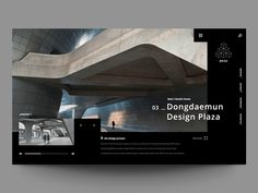 Update 21 Exploring layout for architecture web site