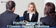 Practical Answers to 7 Common Interview Questions - CareerMetis.com  #jobinterview #jobinterviewquestions Vision And Mission Statement, Most Common Interview Questions, Writing A Cover Letter, Recruitment Agencies, Job Interviews, Team Player, Communication Skills, New Job, Believe In You