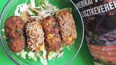 Zöldséges krokett 15db - BROKKOLIS NAGYON JÓ Baked Potato, Potatoes, Chicken, Meat, Baking, Cukor, Ethnic Recipes, Food, Potato