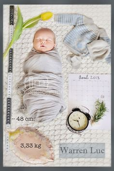 Birth Announcement Newborn Photo Session Inspiration Name Date Weight Ruler Clock Time Unique Custom Kirra Photography Foto Newborn, Newborn Shoot, Newborn Pictures, Baby Pictures, Baby Kind, Baby Love, Book Bebe, Party Fiesta, Birth Announcement Girl